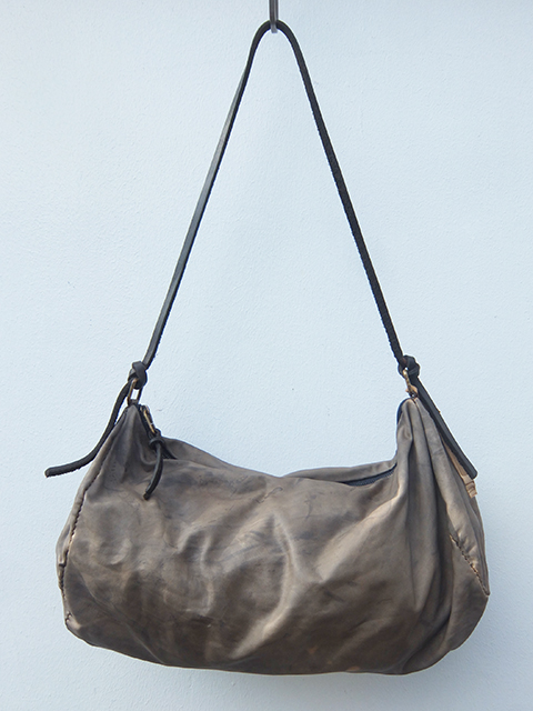 ISABELLA STEFANELLI I-ⅢDUFFLE BAG OFF GREY (1)