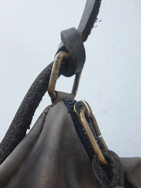 ISABELLA STEFANELLI I-ⅢDUFFLE BAG OFF GREY (2)