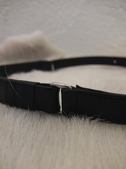 cornelian taurus by daisuke iwanaga roll belt BLACK (5)