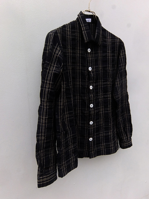 bergfabel woker shirts navy check (3)