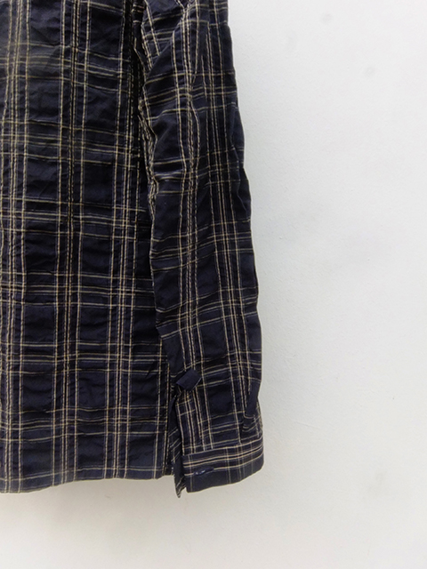 bergfabel woker shirts navy check (5)