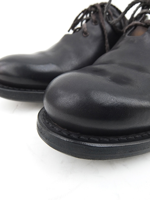 Cherevichkiotvichki One Piece Derby Shoes BLACK (2)