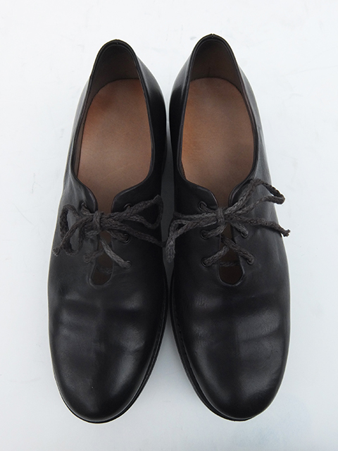 Cherevichkiotvichki One Piece Derby Shoes BLACK (5)