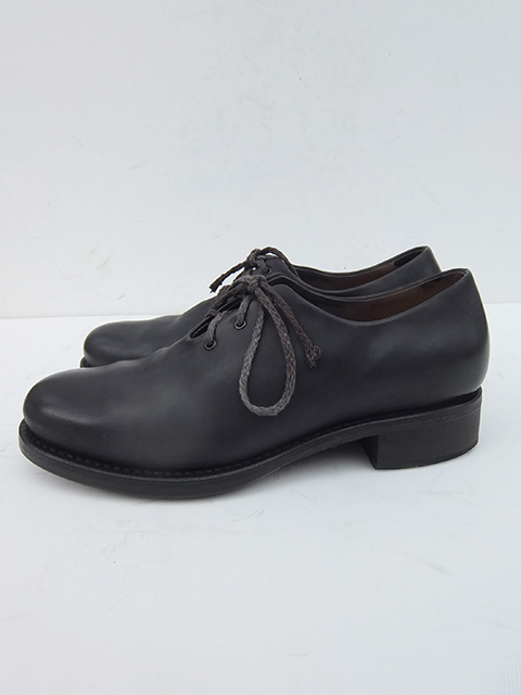 Cherevichkiotvichki One Piece Derby Shoes BLACK MATT (3)
