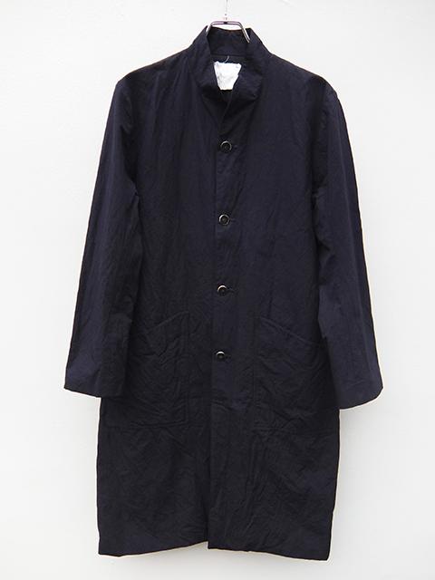 ArakiYuu atelier coat navy (1)
