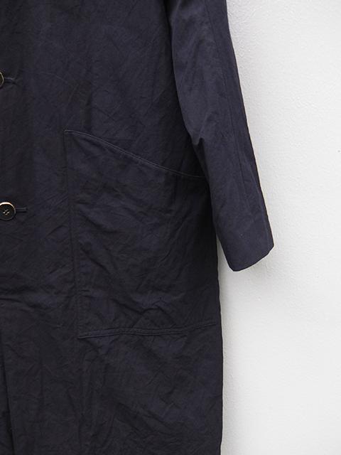ArakiYuu atelier coat navy (4)