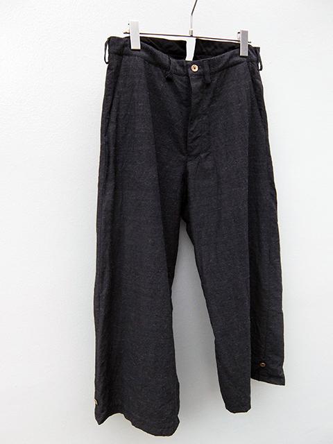 ArakiYuu baggy pants grey (3)