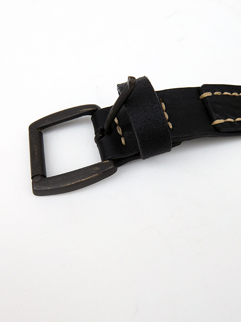 ArakiYuu leather belt BLACK (4)
