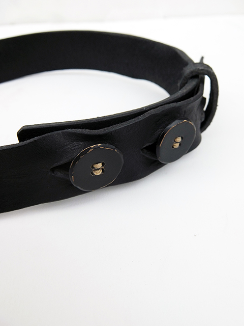 ArakiYuu leather belt BLACK (5)