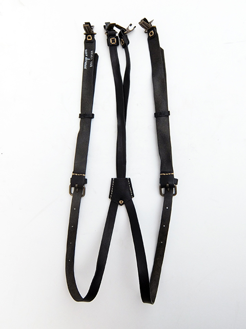 ArakiYuu leather suspender BLACK (1)