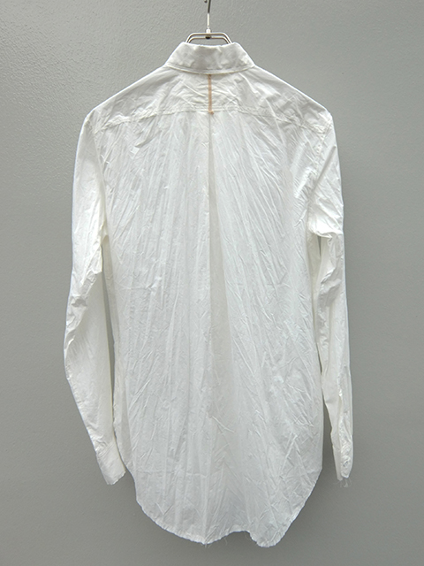 ArakiYuu pointed collar narow shirts white (5)