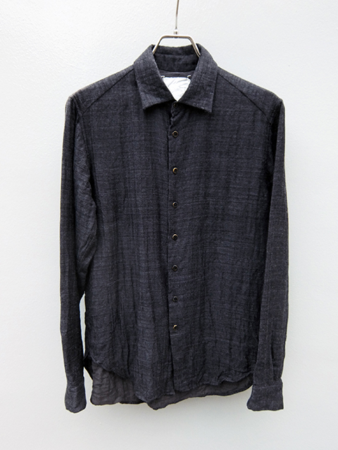 ArakiYuu pointed collar shirts GREY (1)