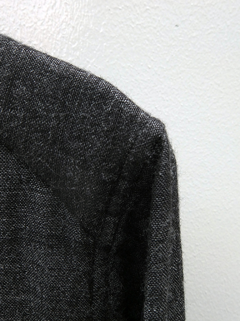 ArakiYuu pointed collar shirts GREY (2)