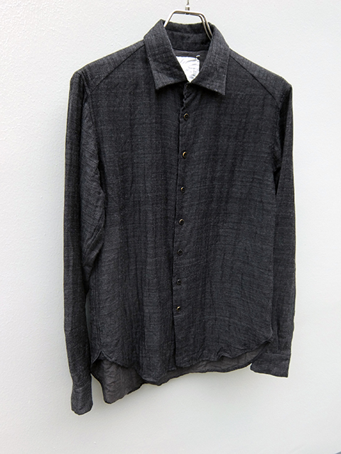 ArakiYuu pointed collar shirts GREY (3)