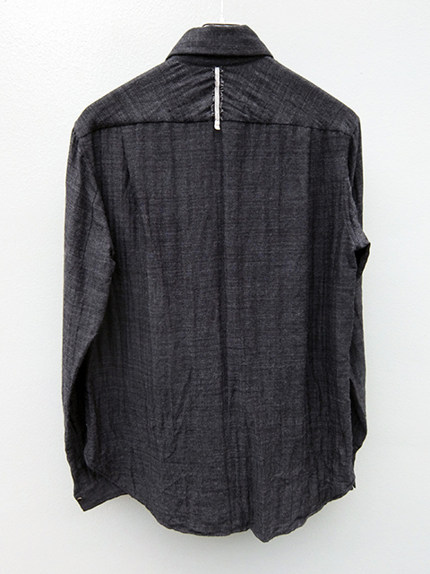 ArakiYuu pointed collar shirts GREY (4)