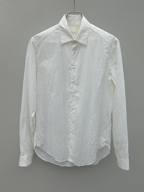 ArakiYuu pointed collar shirts WHITE (1)