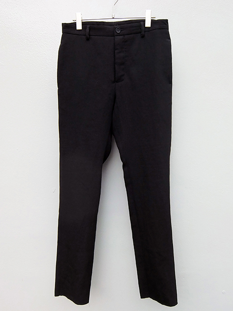 bergfabel pants down slim pants BLACK (1)