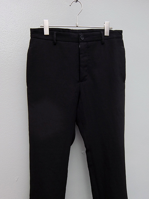 bergfabel pants down slim pants BLACK (3)