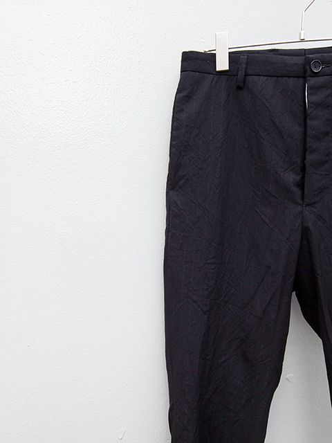 bergfabel straight pants BLACK W GREY STRIPE (3)
