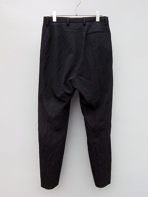 bergfabel straight pants BLACK W GREY STRIPE (4)