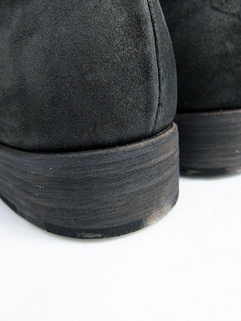m.a+ Double fold shoes BLACK reverse (4)