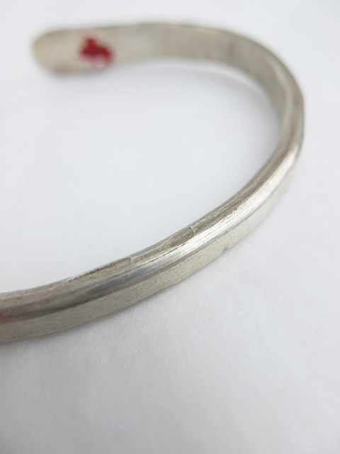 m.a+ Stiched silver bangle (6)