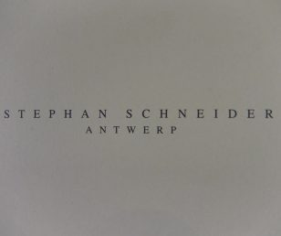 STEPHAN SCHENIDER Men`s 1st Delivery 入荷!!